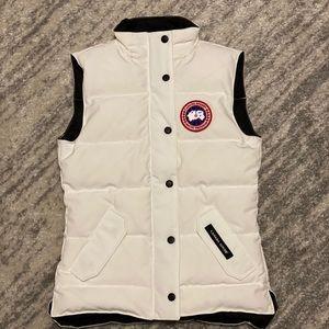 RARE White Canada Goose Vest